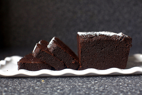 Probably the best picture of best chocolate cake that we could find