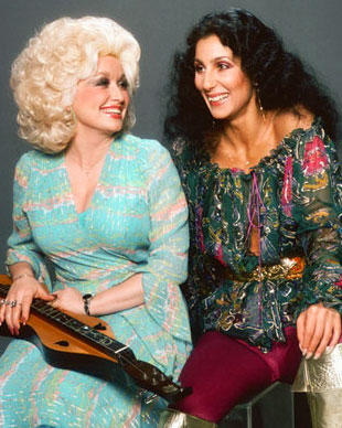 Dolly and Cher