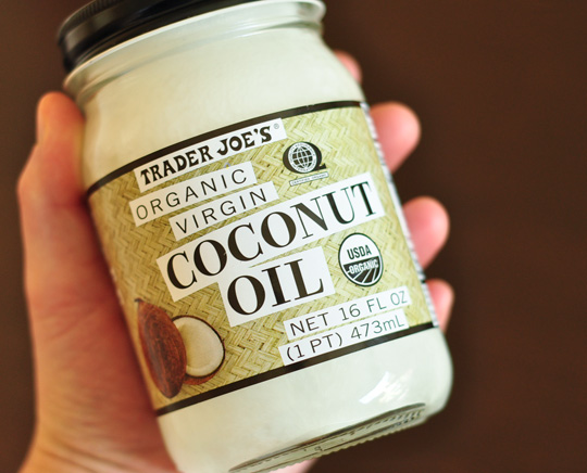 coconut oil trader joes