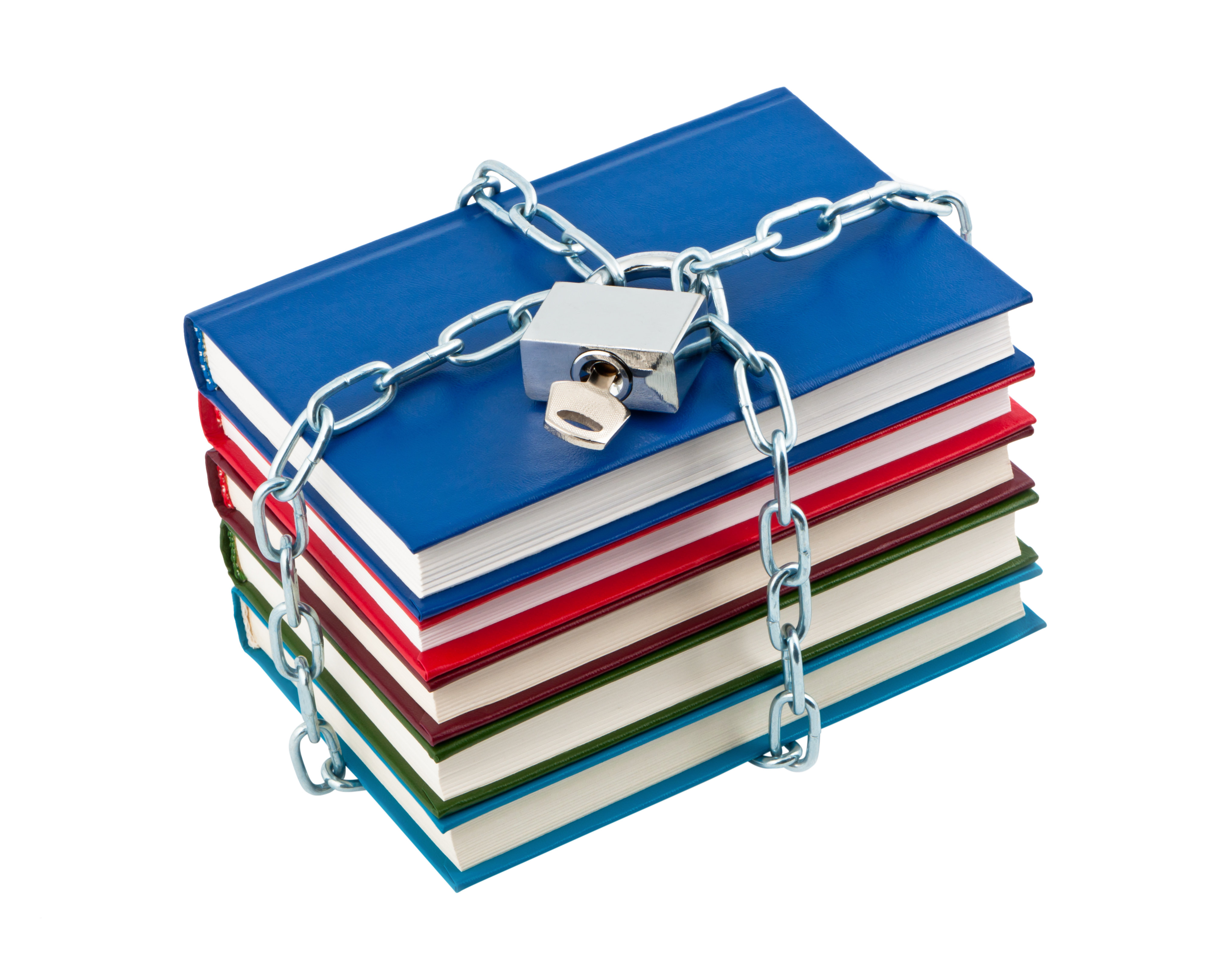 banned books in chains