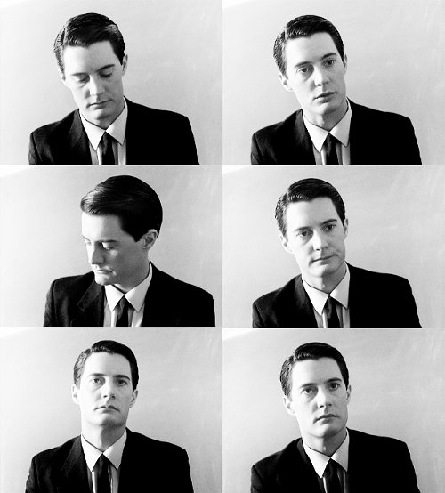 Please enjoy these pictures of Special Agent Dale Cooper.